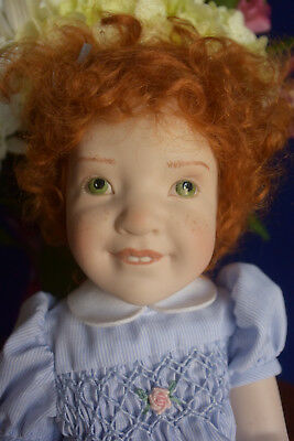 "Just Like Me Luisa, 12"" Beatrice Perini Porcelain Original Doll-Please Read!"