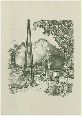 Ciply - Oscar Glace - Lithographie Numerotee - Maison Le Rossignol 1790
