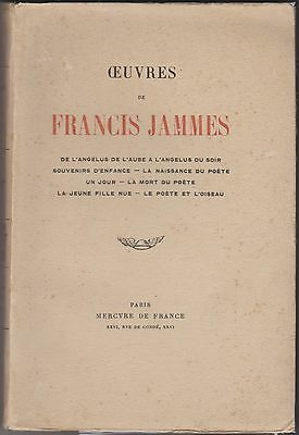 Oeuvres de Francis Jammes