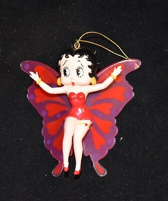 Betty Boop with Wings Ornament