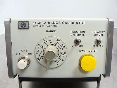 HP / Agilent / Keysight 11683A RF Power Meter Range Calibrator / Calibration Set