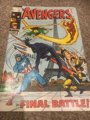 Avengers # 71  The Final Battle ; First Invaders !