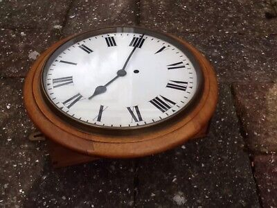 Elliott Chain Fusee Wall Clock - Working And In Good Vintage Condition!