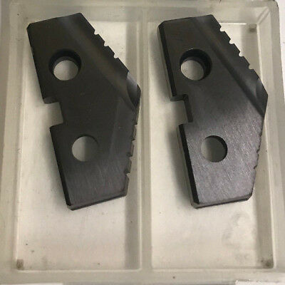 """182A-0108 1-1/4"""" Diam x 3/16"""" Thick Included Angle Spade Drill Insert"""