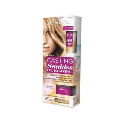 3 x L'OREAL PARIS CASTING SUNKISS JELLY DYE (02) FOR DARK BLONDE TO LIGHT BLONDE