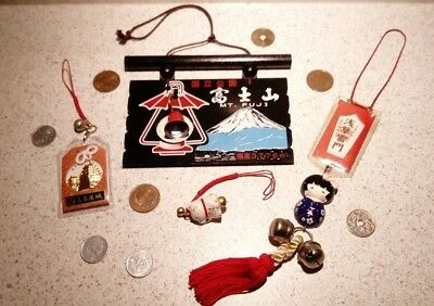 collection of Japanese lucky charm OMAMORI