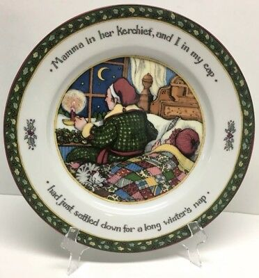 INTERNATIONAL CHINA A Christmas Story Susan Winget Dinner Plate ...