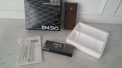 SONY BM-510 Micro Dictator Handheld Portable Microcassette Recorder WORKS in box