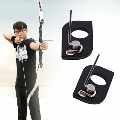 Black Color Stainless Steel Arrow Rest Archery RH For Recurve Bow Outdoor Tools