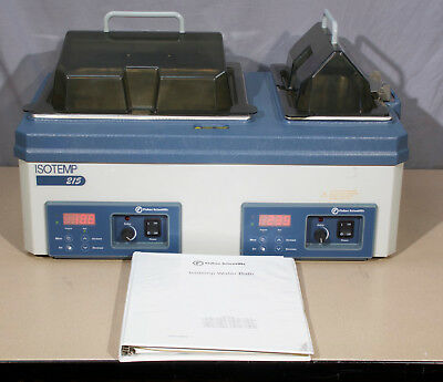 Fisher Scientific Isotemp 215 Dual Water Bath  (R25A