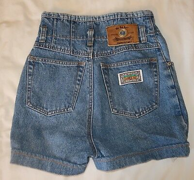 Womens 27 Super High Wasted Shorts Vintage 80's/90's The New Basic Jamescat