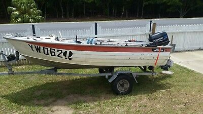 3.8m Savage Tinny New 25hp Outboard
