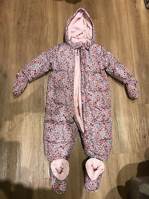 Gap Baby Girl Snow Suit 12 - 18 Mths