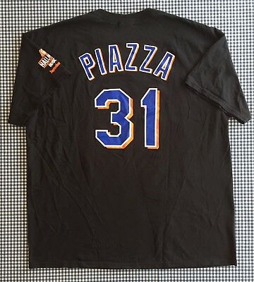 online store 9f4f6 d7ab7 MIKE PIAZZA replica jersey NEW YORK NY METS Adult Large SGA ...