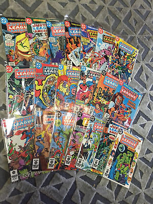 JUSTICE LEAGUE OF AMERICA  #199-250 Copper Age  Near Mint (NM) Superman Batman