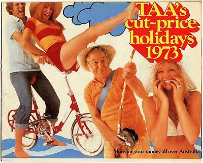 TAA Trans Australia Airlines Cut-Price Holidays 1973 - Woman's Day Extract