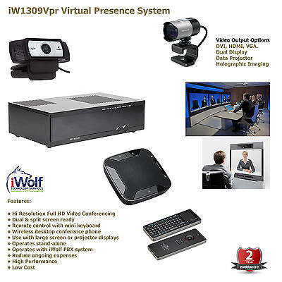 Video Conferencing, Full HD PTZ Virtual Presence System, PBX PABX VoIP ISDN