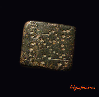Ancient BYZANTINE   Bronze WEIGHT ** NOMISMA  **