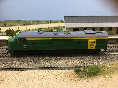 """LATEST RELEASE"" TrainOrama, GM Class Loco, HO Scale, AN Green & Gold, GM44"