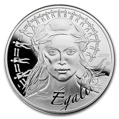 2018 France Silver €100 Marianne Proof (Face Value Coin) - SKU#159533
