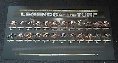 Legends Of The Turf Horse Racing 50 Years Limited Print Caviar Diva Saintly