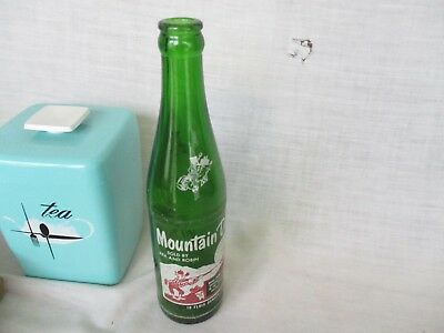 1950s Name Mountain Dew Hillbilly Soda Bottle SOLD by REX and ROBIN 10 oz.