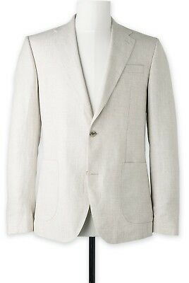Trenery Irish Linen Twill Blazer - Men's Size 38, Brand New