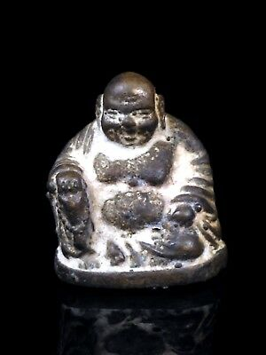 thai buddha amulet old Statue buddha sangka chai Buddhist art antique gorgeous
