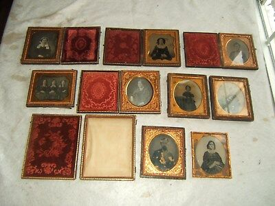 daguerreotype photo photograph 19th century 1800s antique 1840s 1850s vtg old
