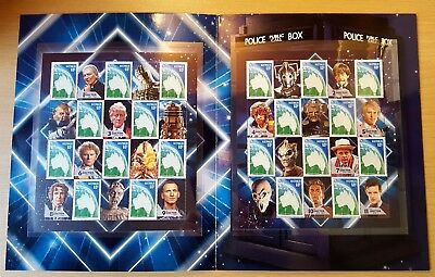 2013 50 Years Dr Who BBC Sheetlet Stamp Presentation Pack (MUH) Official