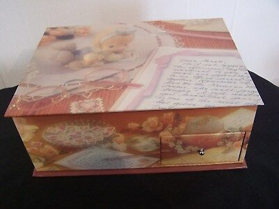 Precious Moments 25150 / C0121 Friends Write From The Start Collector's Box Only