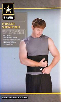 U.s.army Plus Size Slimmer Belt with Microban(r) Antimicrobial Technology Fits W
