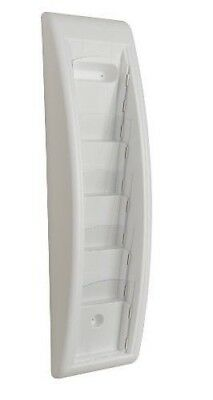 PAPERFLOW 4062US.13 Plastic Light Quick Fit Systems 5 Pockets 3 Letter White
