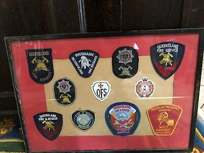 Vintage Obsolete Fire Patches