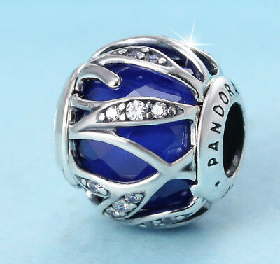 nh Genuine Pandora Sterling Silver Nature's Radiance Charm Bead 791969NCB
