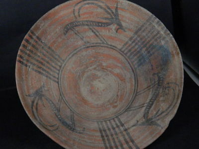 Ancient Large Size Teracotta Painted Pot With Animals Indus Valley 2500 BC IK481