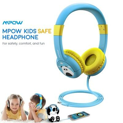 Mpow Kids Headphones Wired On-Ear Headset 85dB Volume Limited Hearing Protection