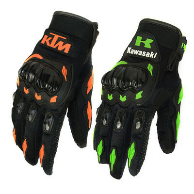 Summer Winter Full Finger motorcycle gloves leather motorbike guantes gloves