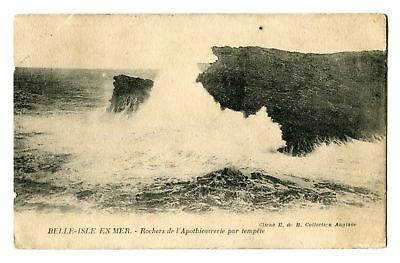 CPA-Carte postale- France - Belle Isle en Mer - Apothicairerie - 1924 (CP184)