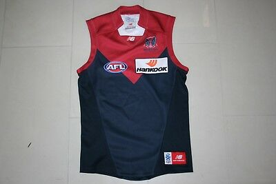Afl Vfl Melbourne Demons Jumper Player Issued No 52 Official Gps Pouch Jersey