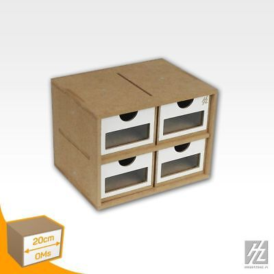 Hobby Zone Mws Drawer Module x 4 (Drawers Module x 4) New OMs01a