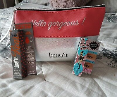 Brand new benefit make up bag  gimmie brow they're real lipstick gift mothers
