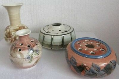 Vintage Jersey Pottery - Collection Of 4 Pieces - In Good Condition