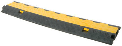 806.990, Mercury, 2 Channel Cable Guard, Cable Ramp, Ramp, Cable Guard, Rubber