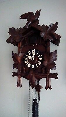 Large Cuckoo clock German black forest