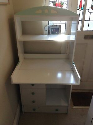 Nursery/childrens storage cupboard/changing table/shelves