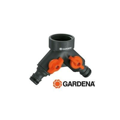 Distribuidor doble Gardena 940-26