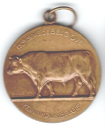 1953 Belgium Medal Issued for Minister of Agriculture, Royal Belgium Cattle