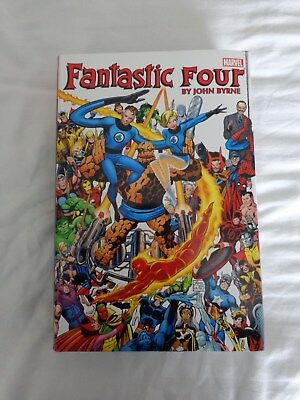 Fantastic Four Omnibus By John Byrne Volume 1 - Unread And Supported - Marvel