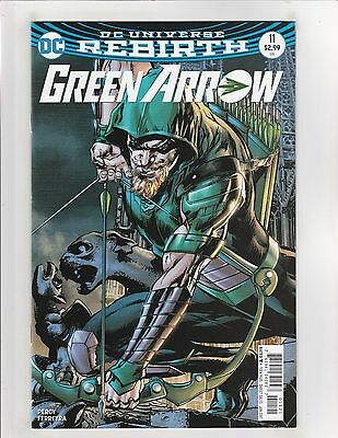 Green Arrow (2016) #11 NM- 9.2 Cover B DC Comics Rebirth Neal Adams